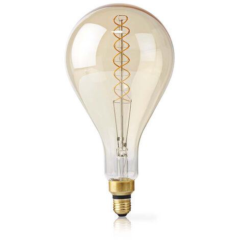 Nedis Bombilla LED retro de filamento E27, 5 W, 280 lm, 2000 K NE550692375