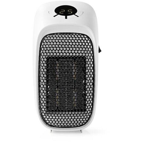 NEDIS Chauffage d'Appoint 400 W  15 - 45 °C pour Cuisine ou Chambre - Surface max 10m2