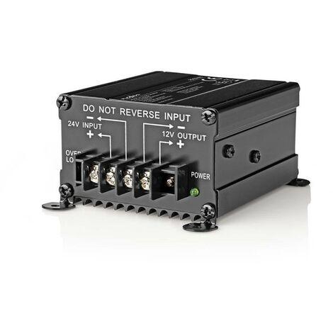 2 Prise Fran/çaise de Courant Alternatif et 2 Port USB-Puissance de Pointe 3000W transformateur de Tension Convertisseur Pur Sinus 1500W-DC 24V /à AC 20V//230V Onduleur ecran LED