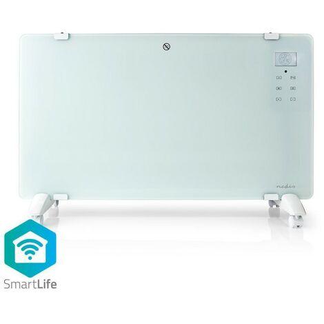 NEDIS Radiateur Convecteur Intelligent Wi-Fi Thermostat Panneau Avant en