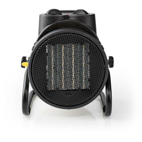 NEDIS Radiateur Soufflant Industriel Thermostat 3 Réglages 2000 W Jaune