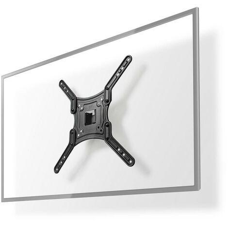 NEDIS Support Mural à Mobilité Intégrale pour TV 23-55 Max. 30 kg 1 Point de Pivot