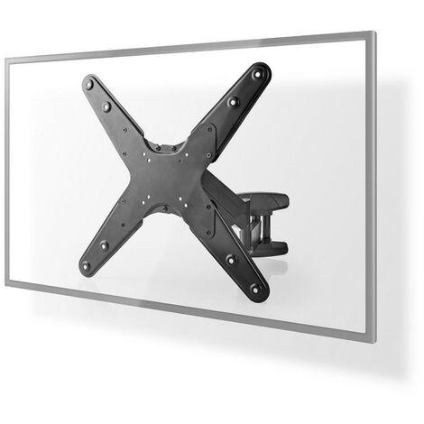 NEDIS Support TV Mural Vertical Ultra Réglable pour Ecran 23 - 55  Max. 30 kg