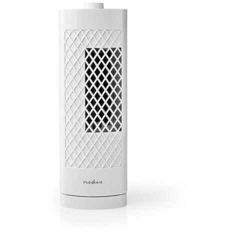NEDIS Ventilateur Colonne de Bureau  Hauteur 30 cm  3 Vitesses  Oscillation