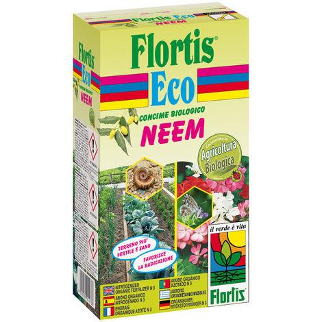 NEEM - Concime Organico Azotato, stimola la radicazione, piante pi sane e resistenti alle malattie - 800 g