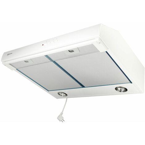 Neff DEB 1612 W, Hotte encastrable,blanc 60cm, max. 380m³/h, filtre à graisse