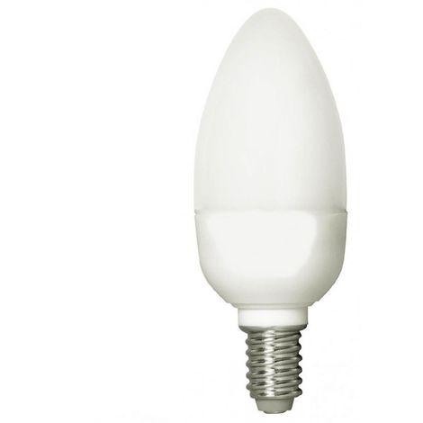 Negawatt NW6209ASP Energiesparlampe Kerze 9W Lampe E14 Leuchtmittel Warmweiß 230V