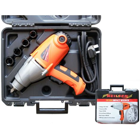 Neilsen 1010w Electric Impact Drill Wrench 1 2 Inch Dr Tool With Sockets P 2996050 10031057 Jpg