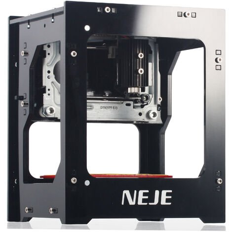 NEJE DK-BL 3000mw 450nm machine de gravure laser bricolage intelligente, prise en charge de la liaison Bluetooth et USB, machine de gravure de haute precision et de haute stabilite