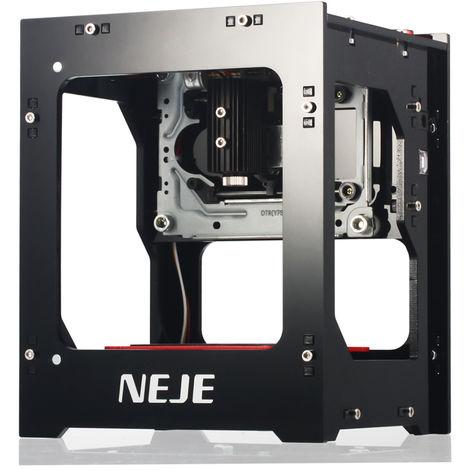 "main image of ""NEJE KZ 2000mW 405nm Laser Engraver 405nm Smart AI Mini Engraving Machine"""