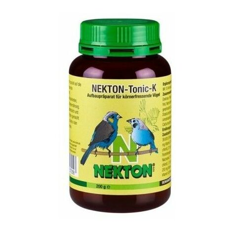 Nekton Tonic K reconstituyente para aves granívoras 200 gr