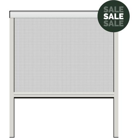 Nematek® Aluminium Insektenschutz Rollo für Fenster bis maximal 160 x 160 cm in verschiedenen Farben
