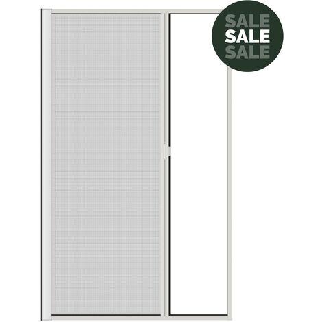 Nematek® Aluminium Insektenschutz Rollo für Türen bis 125 x 220 cm in verschiedenen Farben