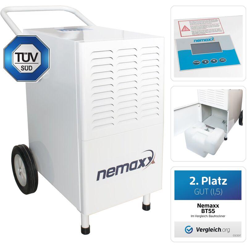 BT55 Deumidificatore condensatore assorbitori di umidità, essiccatori (max. 55l / giorno) Nemaxx