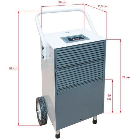 Nemaxx BT55X Deshumidificador, condensador, deshumidificador secador (max. 55l / día)
