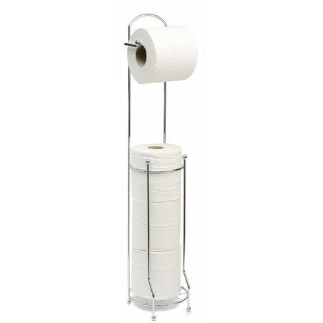 Neo 4 Roll Free Standing Toilet Paper Holder