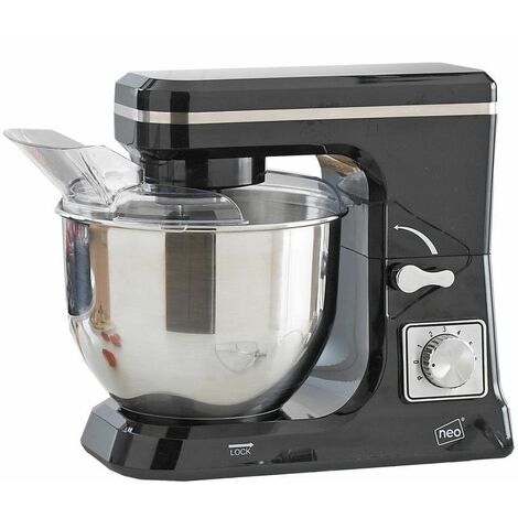Neo Black 5L 6 Speed 800W Electric Stand Mixer