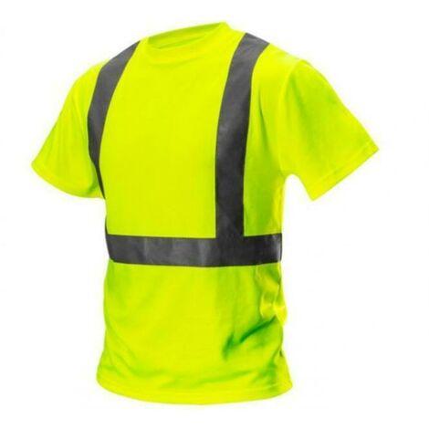 Neo tools t-shirt jaune haute visibilitÉ taille m 81-732-m
