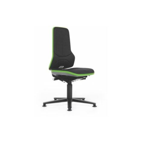 NEON Arbeitsdrehstuhl, Sitzausführung Stoff, ESD, Flexband grün Bürostühle
