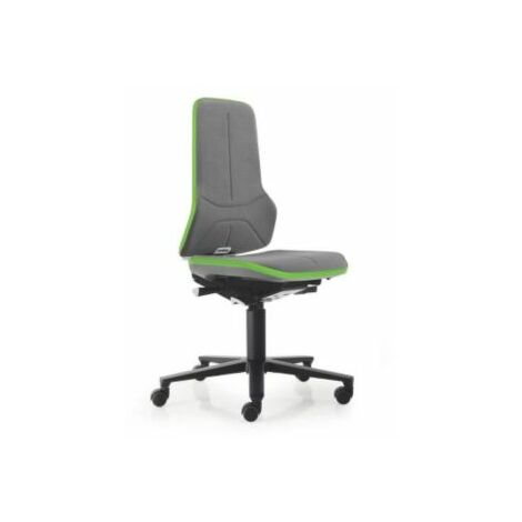 NEON Arbeitsdrehstuhl, Sitzmaterial Supertec, Flexband grün Bürostühle