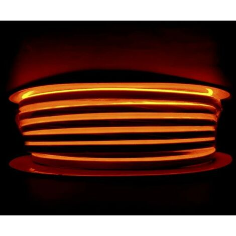 Néon Flexible LED Doré 24V 50M IP65 120LED/m - SILAMP