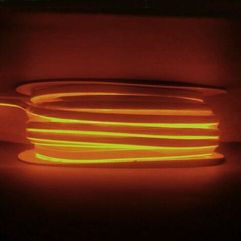 Néon Flexible LED Orange 24V 50M IP65 120LED/m - SILAMP