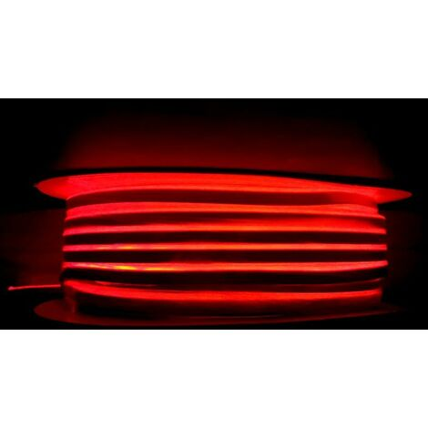 Néon Flexible LED Rouge 24V 50M IP65 120LED/m - SILAMP