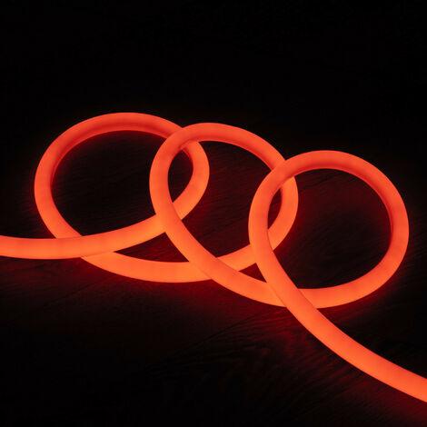 Néon LED Flexible 360 Rond 120 LED/m 220V AC Orange