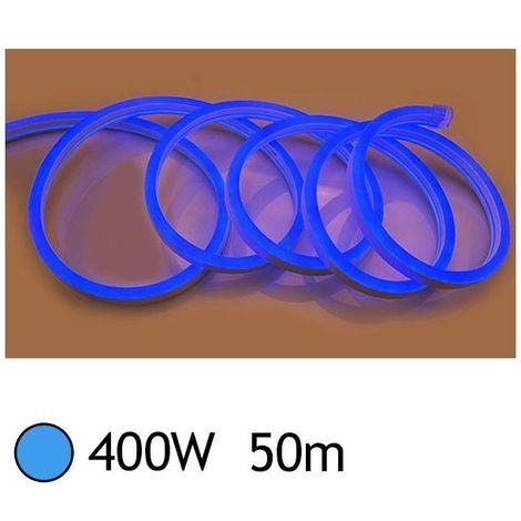 NEON LED FLEXIBLE 400W 230V Couleur BLEU 50m 18/11 Gainage IP65 sécable