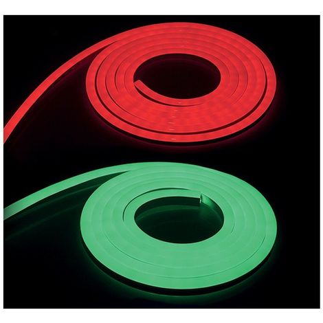 NEON LED FLEXIBLE 400W 230V RGB 50m 22/11 Gainage IP65 + Télécommande