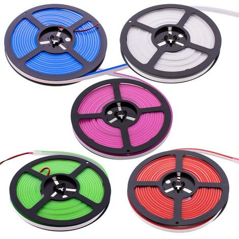 Neón LED Flexible 65W 24V/DC 4x10mm 13W/m IP67 - 5 metros - varios colores