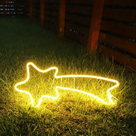 Neon Lumière Meteor 240 LED Lumière 70cm