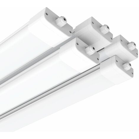 Néon Tube LED 120CM 36W Tube LED Anti-Choc IP65 Lumière LED 3000LM Blanc Neutre 4000K