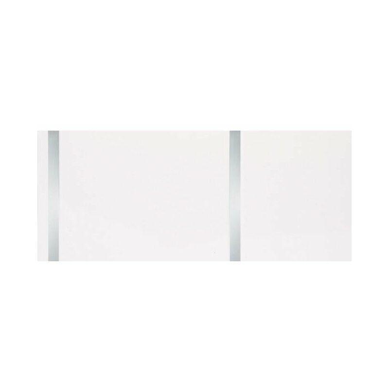 Image of Neptune Ceiling Panels 2.6m White & Chrome Pack of 4