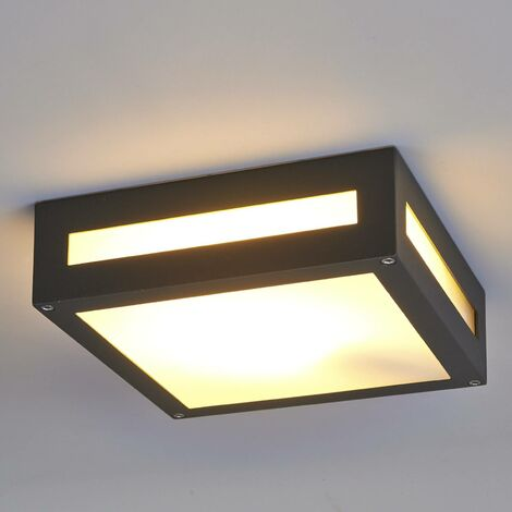 Nerea rectangular outdoor ceiling light