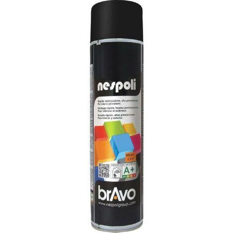 NESPOLI Aerosol de peinture - Noir mat - 600 ml