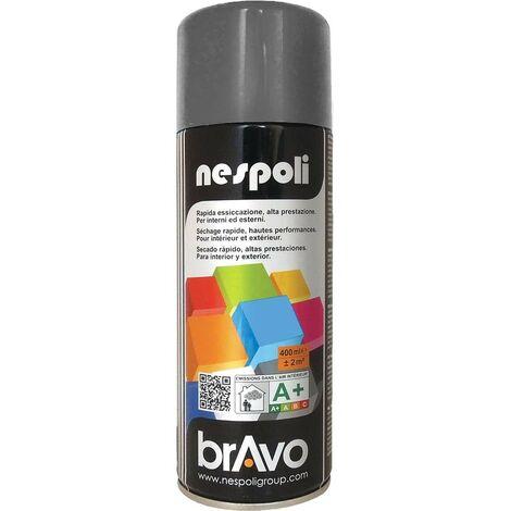 NESPOLI Peinture Aérosol BRAVO Anthracite - 0,4 L