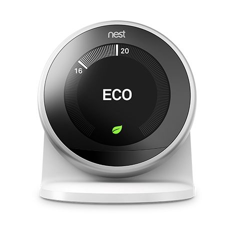 NEST SOCLE LEARNING THERMOSTAT