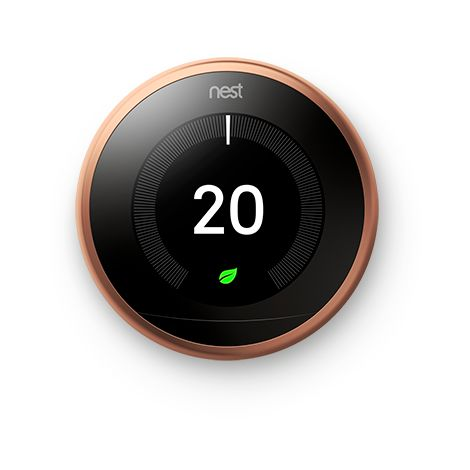 """main image of """"Thermostat Nest Learning - Cuivre - Google Nest"""""""