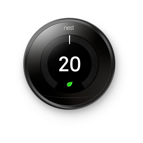 "main image of ""Thermostat Nest Learning - Noir - Google Nest"""
