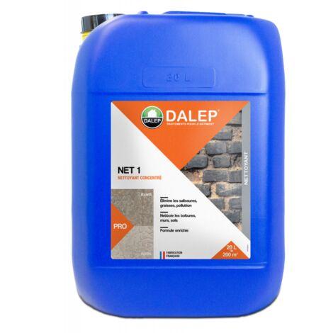 NET 1 - Nettoyant, décontaminant, Algicide 20L