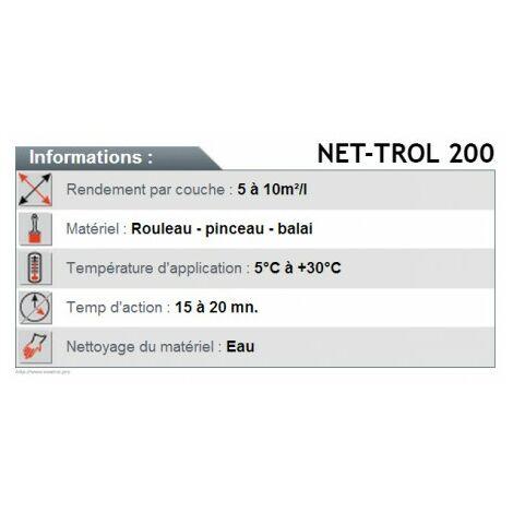 NET-TROL 200 Dégriseur - 5L - DURIEU