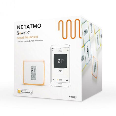 Netatmo NTH01-EN-EC Thermostat Wifi intelligent pour chaudière simple