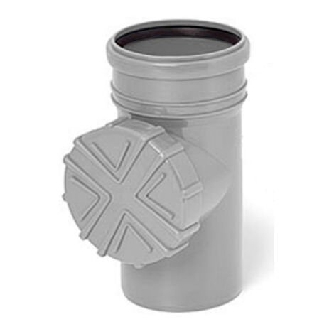 Nettoyage du système de vidange de gouttière avec filtre diamètre de tuyau de 110mm couleur grise