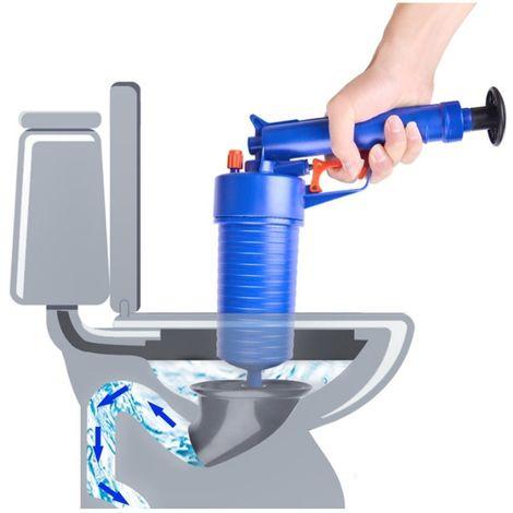 Nettoyage Toilettes cuisine Tuyaux de vidange haute pression Eviers Air Blaster Cleaner Plongeur