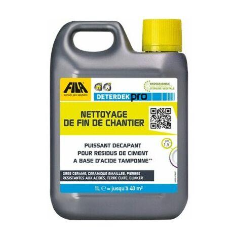 Nettoyant acide pour sols 1L DETERDEK FILA
