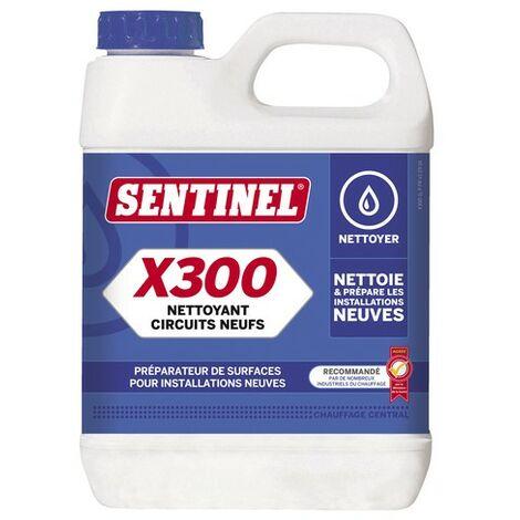Nettoyant circuit neuf X300 1l - SENTINEL : X300L-12X1L-FR