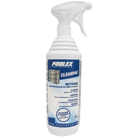 Nettoyant CleanPac pour évaporateur de pompe à chaleur - Poolex