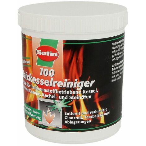 Nettoyant de chaudière 100 pour combustibles solides poudre