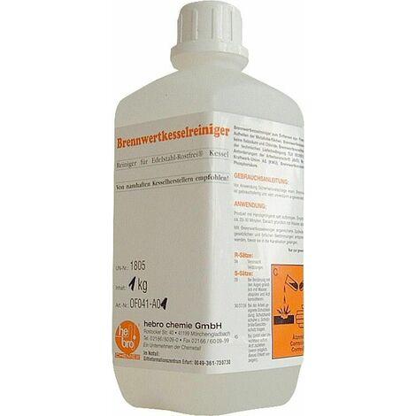 Nettoyant de chaudière à condensation bouteille 1 kg